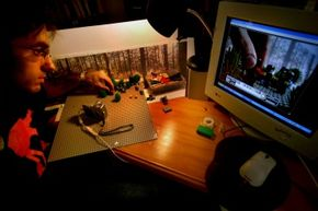 The most important ingredient for making a brickfilm is time.