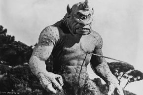 """Stop-motion animation has been a tool for filmmakers for a long time. Pictured here: Ray Harryhausen's stop-motion cyclops from the 1958 film """"The 7th Voyage of Sinbad."""""""