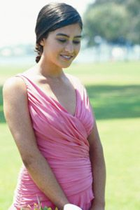 Color is one of the most important considerations for bridesmaid dresses.