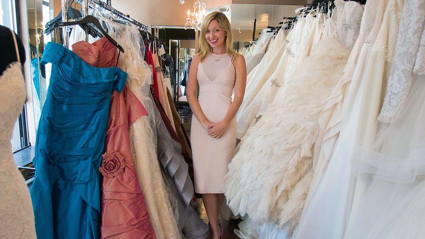 bridesmaid for hire Jen Glantz