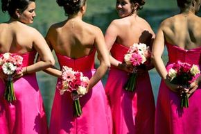 The bridesmaids are ready, but do they all need the same hairdo?