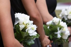 """If you've been a bridesmaid three times, you can reverse the """"forever-alone"""" curse by catching the bridal bouquet."""