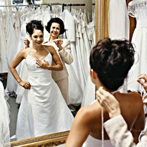 Choosing the right dress is one of the most important considerations for a bride. See more wedding gown pictures.