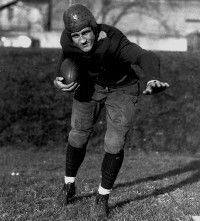 Bronko Nagurski returned to                               pro football for a final season                                            as a tackle six years after                                            he first retired. See more                                            pictures of football players.