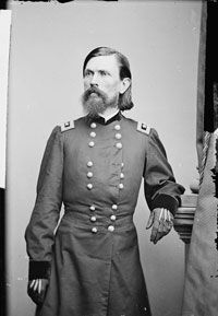 An early photograph of Union general Thomas L. Crittenden, circa 1860-65