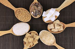 The chemical compositions of brown and white sugar are nearly identical.