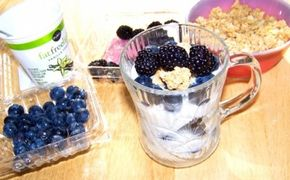 Prepare grab-and-go breakfast options like yogurt parfait.