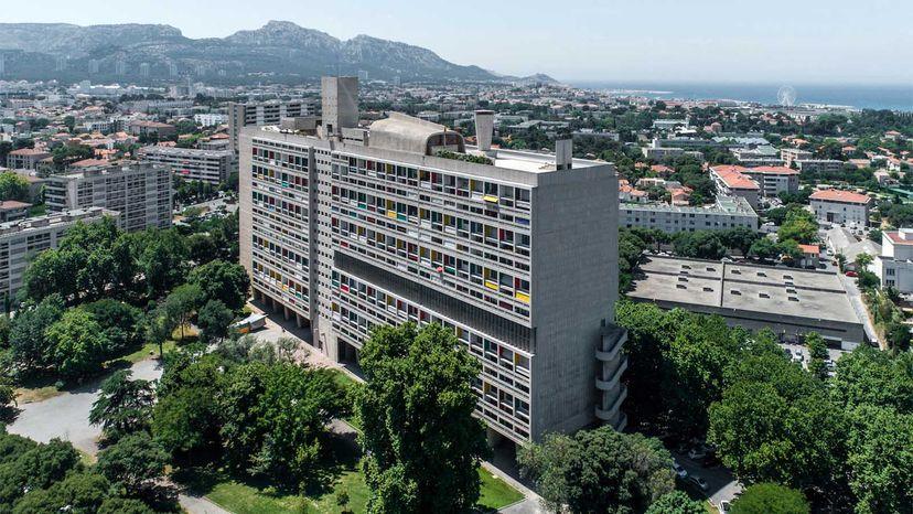 Unité d'Habitation in Marseille