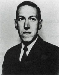 H.P. Lovecraft, creator of Cthulhu and other things that go bump in the night.