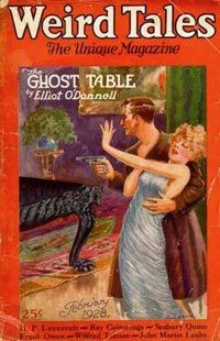 """Lovecraft saw many of his stories, including """"Call of Cthulhu,"""" published in Weird Tales magazine."""