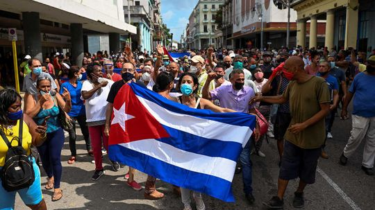Cubans Protest to Demand End of Dictatorship. What Led Up to This?