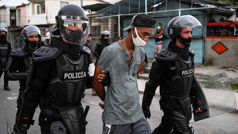 Cuban protests