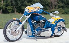 Custom Shop Cycles Pro Street Chopper was built over a two month time frame.