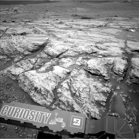 NASA's Curiosity Mars rover on June 18, 2019
