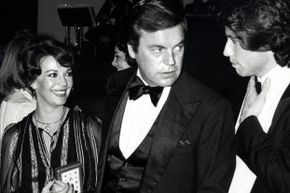Wood, Wagner and John Travolta (!) at a 1978 tribute to Fred Astaire.