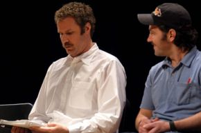 """Will Ferrell and Paul Rudd do a staged reading of """"A Confederacy of Dunces"""" in 2003. That film adaptation of the book, just one of many, wouldn't wind up getting made either."""
