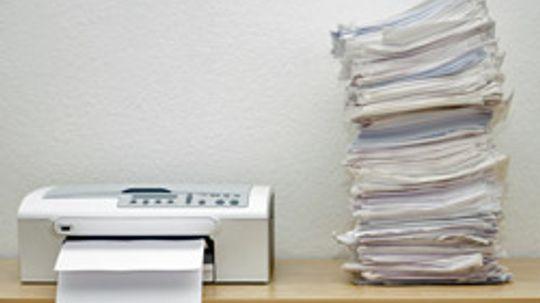 Top 5 Ways to Cut Printer Waste