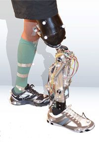 A version of this robotic prosthesis will be competing in the 2016 Cybathlon.