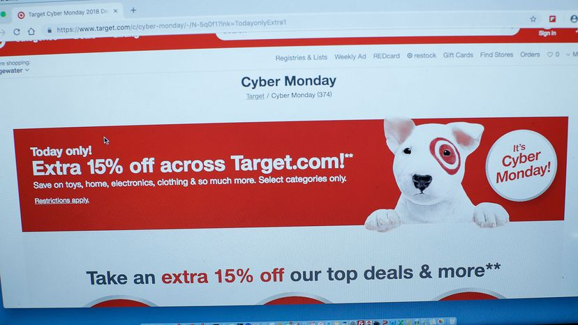Target, Cyber Monday