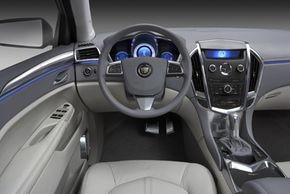 The interior of the Cadillac Provoq includes an abundance of luxury features for the occupants.