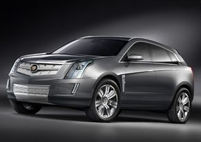 Image Gallery: Concept Cars The Cadillac Provoq is an eco-friendly concept. See more concept car pictures.