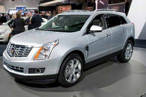 The 2013 Cadillac SRX is just one of several Cadillac vehicles to feature enhanced safety technology -- including the all-new Safety Alert Seat. Want to learn more? Check out these Car Safety Pictures.