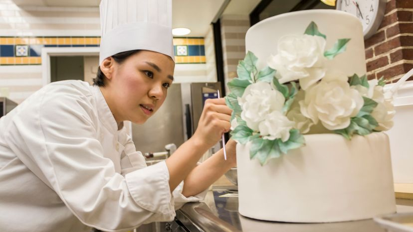 pastry chef, wedding cake