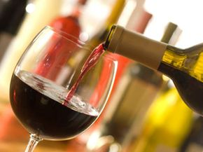 Just how many calories are lurking in your favorite glass of Shiraz? See our collection of wine pictures.
