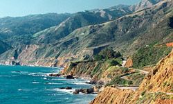 The Pacific Coast Highway, near Big Sur, Calif.