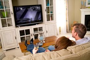 Before you calibrate your HDTV, you need to think about the lighting in your room and how far you sit from the set. See more HDTV pictures.
