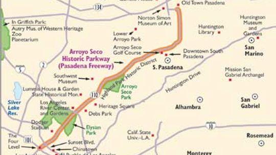 California Scenic Drives: Arroyo Seco Parkway