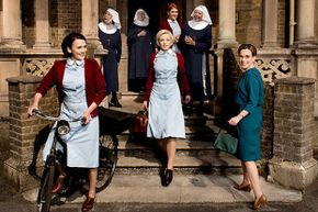 """The fourth season of """"Call the Midwife"""" premiered in 2015."""