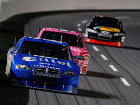 NASCAR drivers must pay special attention to wheel adjustment to obtain the optimal handling and traction.