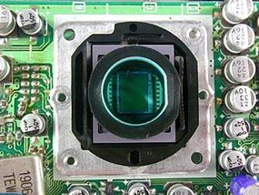 The camcorder's Charge Coupled Device (CCD)