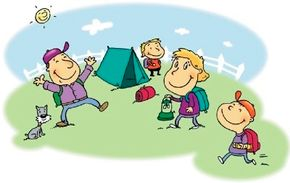 Camping with family is so much fun!