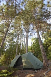 Pick a size and shape that suits your camping needs.