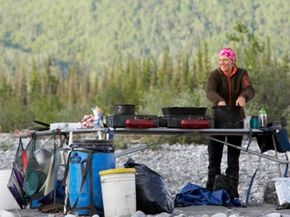 Image Gallery: Extreme Grilling Bringing along the right cookware during a camping trip can make or break your meals. See pictures of extreme grilling.
