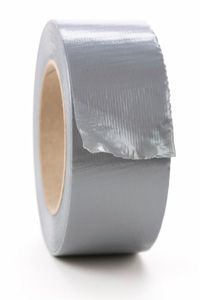 Duct tape -- Man, that stuff is handy!