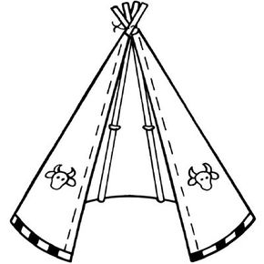 Learn to build an authentic Native American home in the Build a Tepee activity.