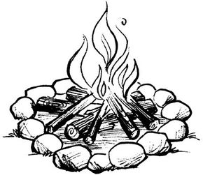 Make sure your child knows to never light a fire without an adult present.