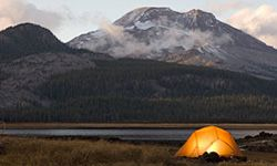 You don't need everything in your camping arsenal for every trip.
