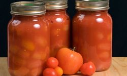 Glass jars are an acceptable alternative to stainless steel.