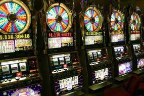 Slot machines in Las Vegas.