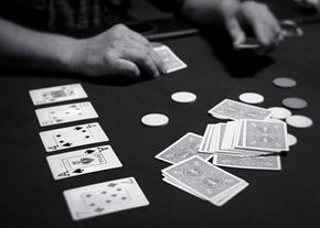 A game of Texas Hold 'Em