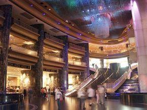 The Atrium at the Crown Casino in Melbourne, Australia.