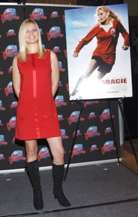 Casting directors sought a girl who could act and play soccer to play Gracie finally settling on Carly Schroeder.