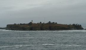 The remote lighthouse at Cape Flattery, northernmost in the lower 48 states, marks the stormy entrance to the Straight of Juan de Fuca. See more lighthouse pictures.