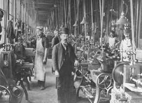 The Industrial Revolution brought about the end of true capitalism.