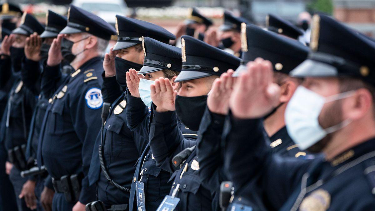 US-Kapitol-Polizei in höchster Alarmbereitschaft, um Kongress und Demokratie zu schützen
