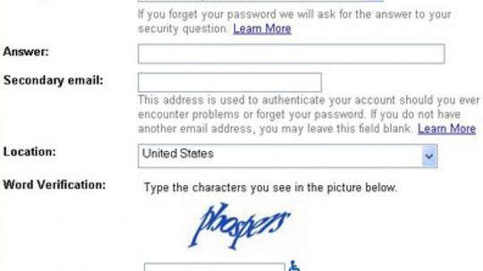 How CAPTCHA Works